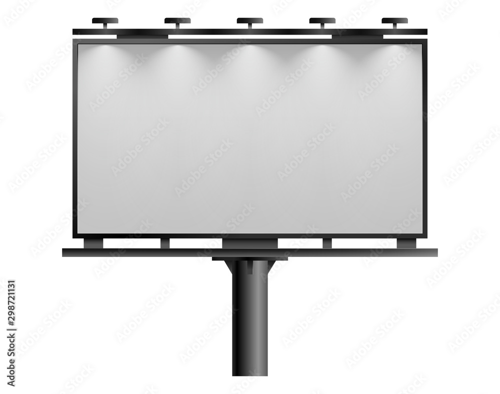 Fototapety, obrazy: Blank billboard