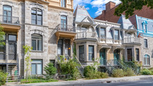 Montreal, Typical Victorian Ho...