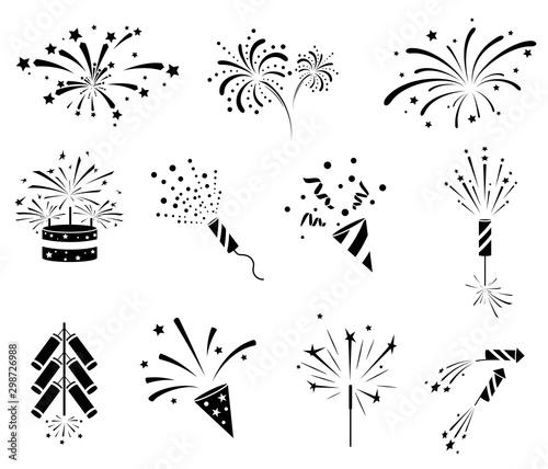 Fotografija Firework  icon set
