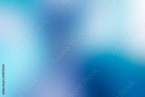 Foto abstract blue gradient smooth background