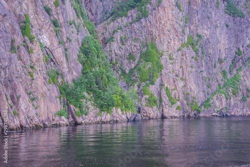 Keuken foto achterwand Lavendel Landscape in Mont-Tremblant, Canada