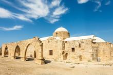 Panagia Odigitria Or Virgin Mary Church With Ruined Arch, Kouklia Village, Paphos Region, Cyprus