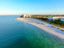 Aerial View Of St Pete Beach A...
