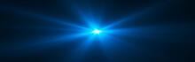 Glowing Light Effect. Starburs...
