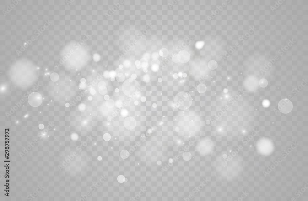 Fototapety, obrazy: The dust sparks