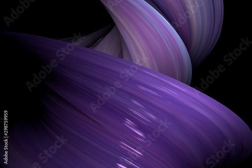 Fotografía 3D rendering swirl