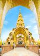 Leinwanddruck Bild - Wat Pha Sorn Kaew temple