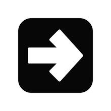 Arrow Sign In Icon Trendy Flat...