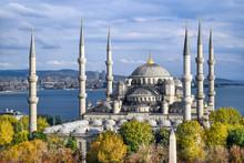 Aerial Shot Of Blue Mosque (Su...