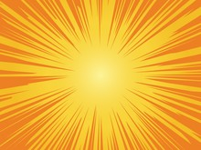Orange Sun Background. Sunrise...