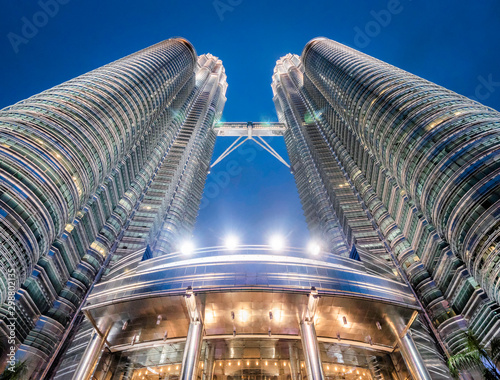 Canvas Prints Kuala Lumpur Tour Petronas de Kuala Lumpur en Malaisie