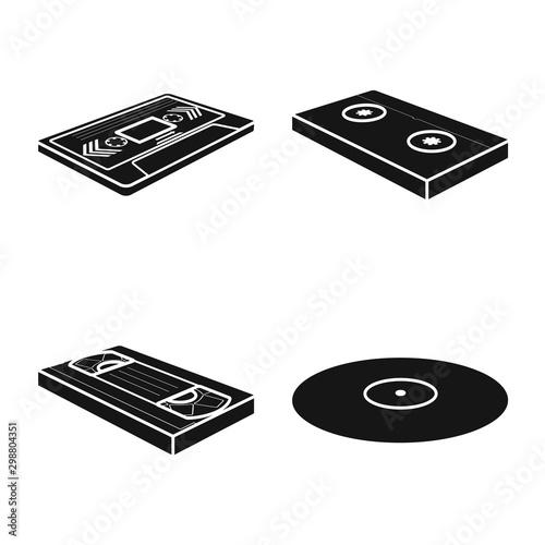 Fotografering  Vector design of device and equipment symbol