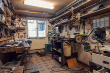 Domestic Home Workshop Room