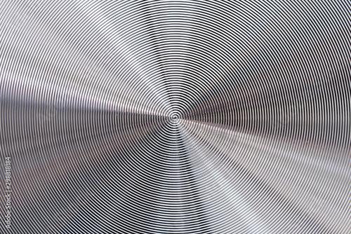 Fotografía  Metal abstract technology Silver aluminum background