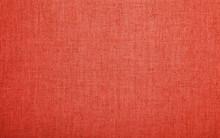 Red Pink Burlap Jute Canvas Texture Background