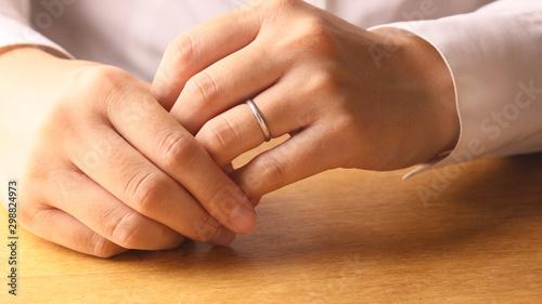 手を組む既婚女性 Tapéta, Fotótapéta