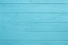 Wooden Board Painted Blue
