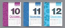 Vector Calendar Design With 20...