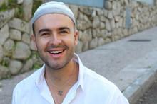 Jewish Man Wearing A Signific...