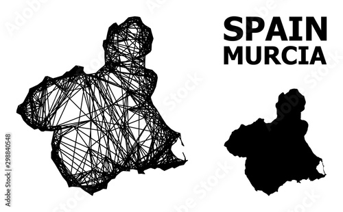Network Map of Murcia Province