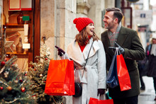 Great Shopping In Christmas Time