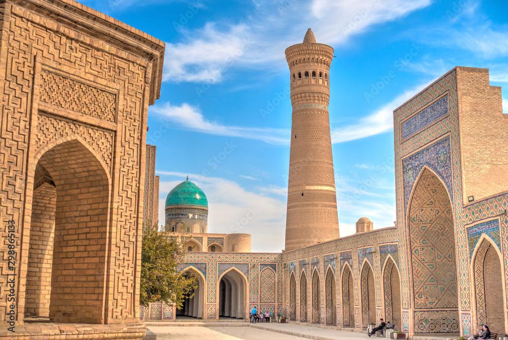 Fototapety, obrazy: Kalan Mosque, Bukhara