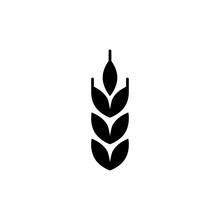 Wheat Icon Trendy