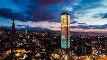Colpatria Tower, Bogotá, Colombia