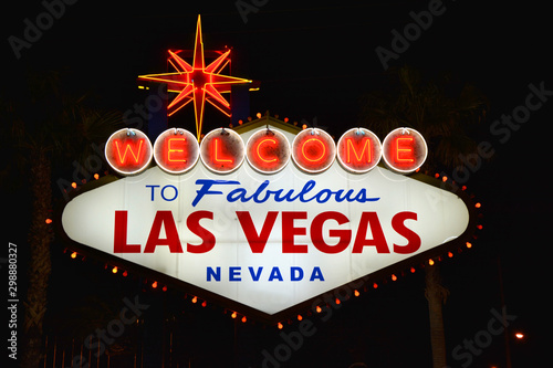 Papiers peints Las Vegas Welcome to Fabulous Las Vegas sign.