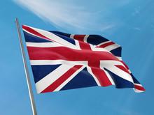 United Kingdom Flag On A Pole ...