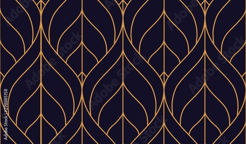 Vector ornamental seamless pattern Canvas