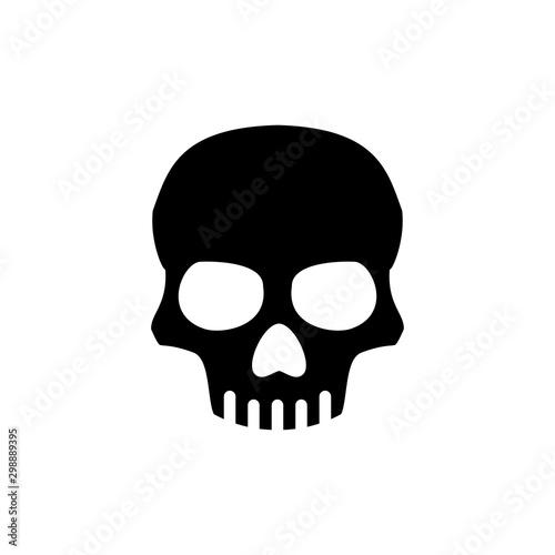 Pinturas sobre lienzo  Skull icon trendy