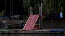 Kayak Ramp And Slide On London...