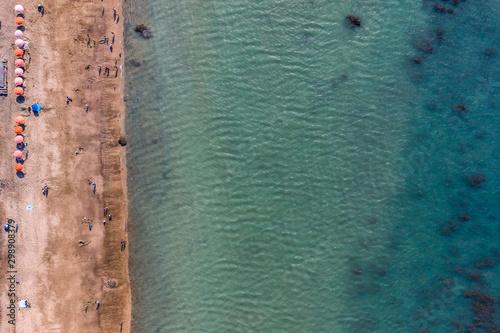 Repulse Bay[Qian Shui Wan] Aerial View - Taiwan North Coast , shot in Sanzhi Dis Fototapet
