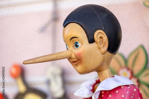 Fototapeta pinocchio puppet of the story of collodi