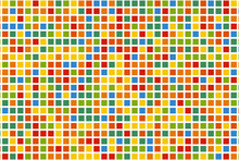 Abstract Colorful Pixel Backgr...