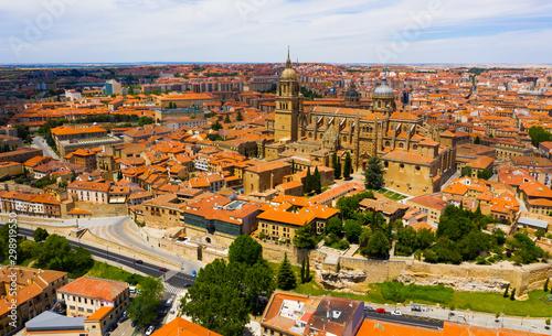Cityscape of Spanish city Salamanca