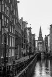 Budynki, ulice i kanały w Amsterdamie, Holandia - 298924140