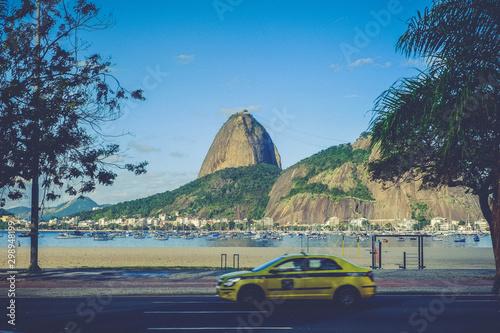 Photo  Cab in Rio de Janeiro