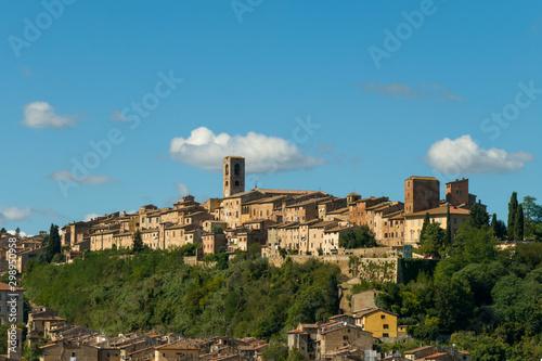 Fotografie, Obraz  Village Colle di Val d'Elsa in Italy