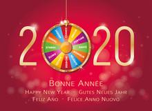 2020-Carte De Vœux Roue De La Fortune-1