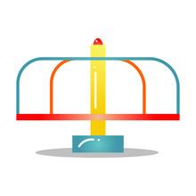 Kids Merry-go-round For Playgr...
