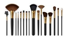 Makeup Brushes, Eyebrow Comb. Make-up Artist Kit