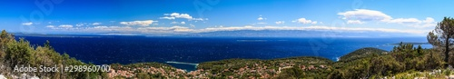 Photo Panorama vom Sv. Jure über Veli Losinj