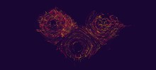 Abstract Wavy Pattern Consisti...