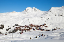 Panoramic View Of Belle Plagne...