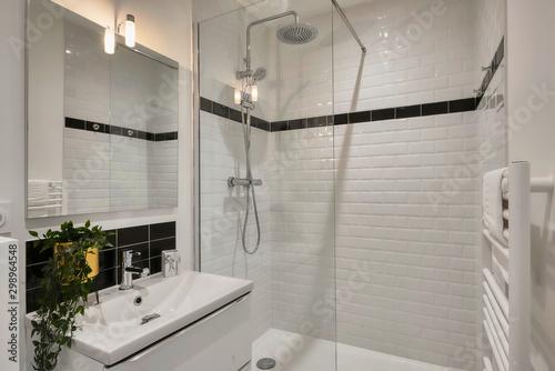 Photo modern bathroom