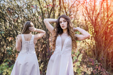 Two Young Princess Wearing Nic...