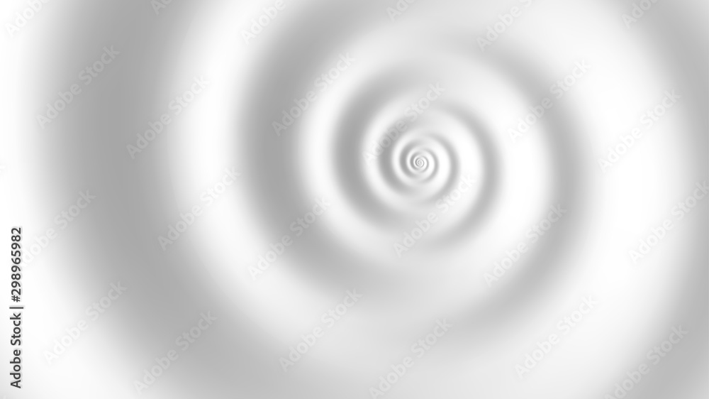 Fototapeta Fibonacci spiral white abstract background. Vector illustration