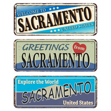 Sacramento Vintage Tin Sign Co...